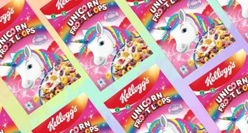 Unicorn Cereal is Coming to a Breakfast Bowl Near You