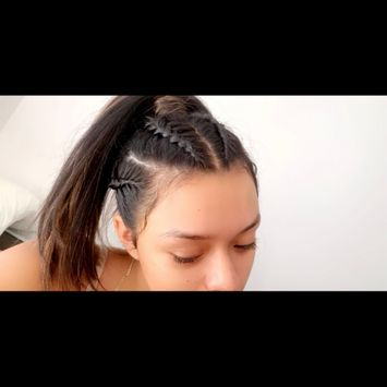 Photo uploaded to #BraidGame by Maria F.