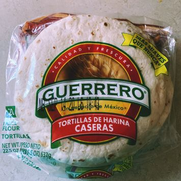 Guerrero Tortillas De Harina Caseras Fajita Flour Tortillas Reviews 2021