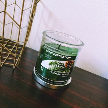 Yankee Candle Fresh Balsam Fir Scented Candle 19 oz American Home Collection