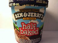 Ben & Jerry's Half Baked® Ice Cream uploaded by Amber R.