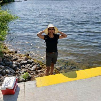 Photo uploaded to #SummerSelfie by Rajni N.