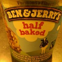 Ben & Jerry's Half Baked® Ice Cream uploaded by Christina R.