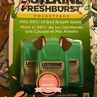 LISTERINE POCKETPAKS® Oral Care Breath Strips uploaded by Alina M.