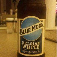 Blue Moon Belgian White Ale Beer, 6 Pack, 12 fl. oz. Bottles, 5.4% ABV uploaded by Taylor H.