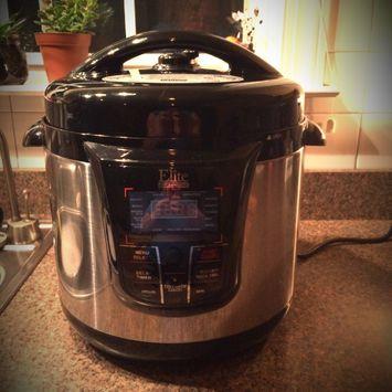 Elite Platinum 8qt 13 Function Pressure Cooker Black Reviews 2021