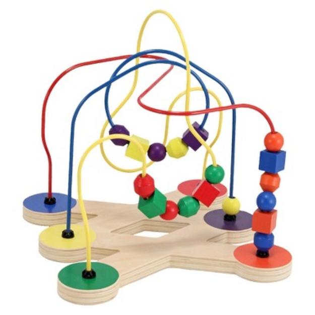 Slide: Melissa and Doug Classic Toy Bead Maze 2+