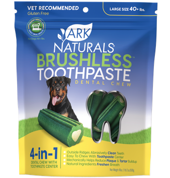 Ark Naturals Brushless Toothpaste Dental Chew - 40+ lbs