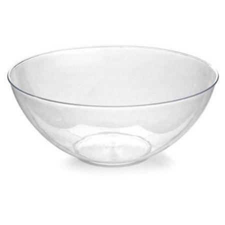 Fineline Settings 3504-WH Platter Pleasers 100 oz White Bowl