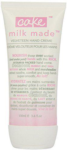 Cake Beauty Milk Made Velveteen Hand Cream