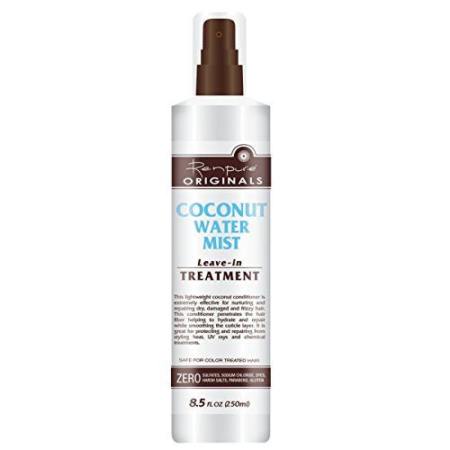 Renpure Coconut Water Mist Leave-In Treatment with Sprayer