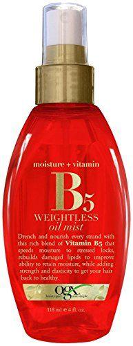 OGX® Moisture Plus Vitamin B5weightless Oilmist