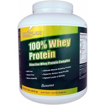 100% Whey Protein - Chocolate Bioplex Nutrition 5 lbs Powder