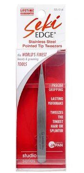 Seki Edge Stainless Steel Pointed Tip Tweezers