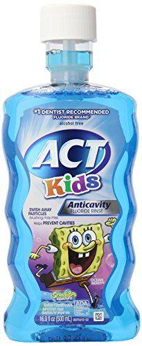 "ACT Anti-Cavity ""Sponge Bob"" Rinse for Kids"