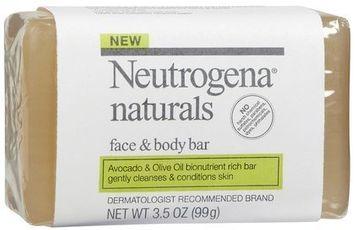 Neutrogena® Naturals Face and Body Bar