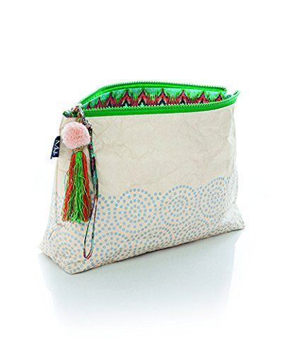 MIXT Studio Tassel Zipper Pouch Tyvek Travel Water-Resistant