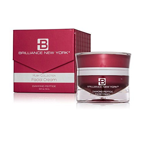 Brilliance New York Diamond Peptide Face Cream Ruby Collection Anti Aging