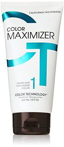 California Tan Color Maximizer Lotion Sunless