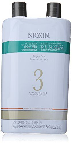Nioxin System 3 Cleanser and Scalp Therapy Conditioner