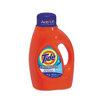 Procter & Gamble Professional Tide Cold Water 2X Laundry Detergent - 50 oz.