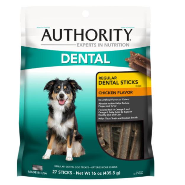 AuthorityA Dental Stick Dog Treat