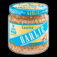 Spice World Chopped Garlic California Grown