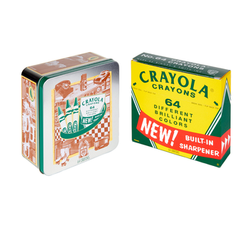 Crayola 60th Anniversary Tin
