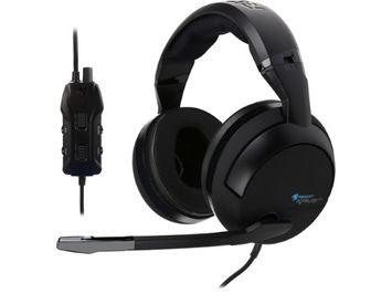 Roccat Kave Xtd Analog - Premium 5.1 Surround Sound Analog Gaming Headset - Surround - Black - USB, Mini-phone - Wired - 32 Ohm - 20 Hz - 20 Khz - Over-the-head - Binaural - 50 Db Snr - (roc-14-900)