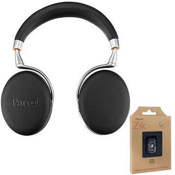 Parrot Zik 3 Wireless Noise Cancelling Bluetooth Headphones Blk Leather + Battery