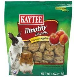 Kaytee Products Inc - Timothy Hay Baked Small Animal Treat- Apple 4 Ounce