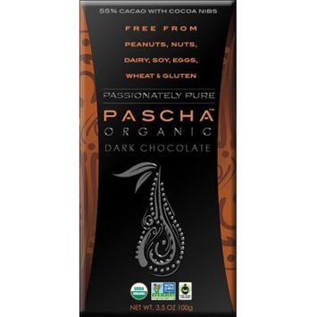 Pascha Organic Dark Chocolate with Cocoa Nibs - 3.5 oz