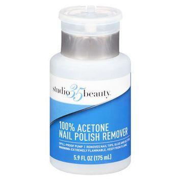 Studio 35 Nail Polish Remover Pump 100% Acetone