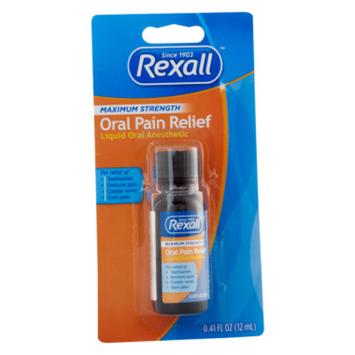 Rexall Maximum Strength Oral Pain Relief, 0.41 fl oz