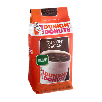 Dunkin' Donuts Dunkin' Decaf Decaffeinated Medium Roast Ground Coffee