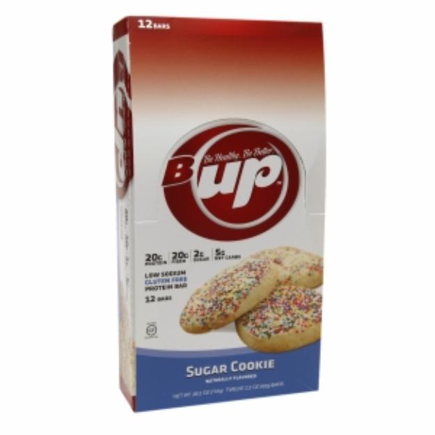 B. Up B-Up Protein Bar 20g, Gluten-Free, Sugar Cookie, 12 ea