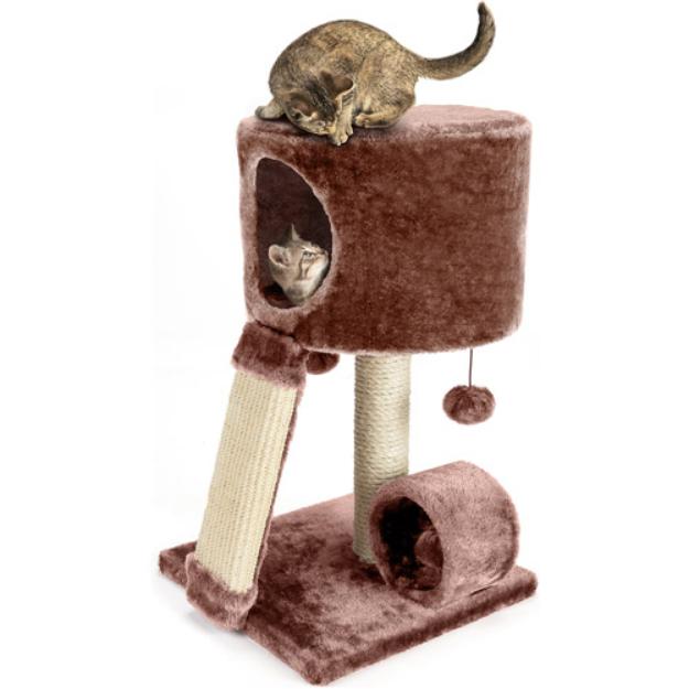 Ace Bayou Cat Craft Cat Condo Perch, Brown