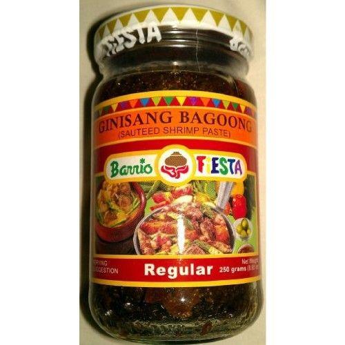 Barrio Fiesta Bagoong ( Shrimp Paste ) (3 bottles)