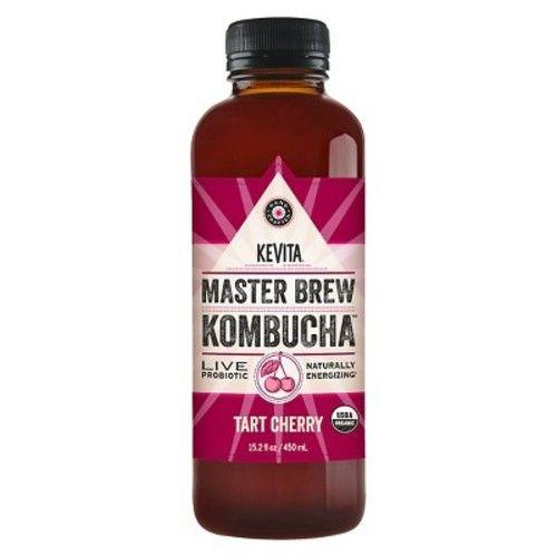 KeVita Organic Tart Cherry Master Brew Kombucha 15.2 oz