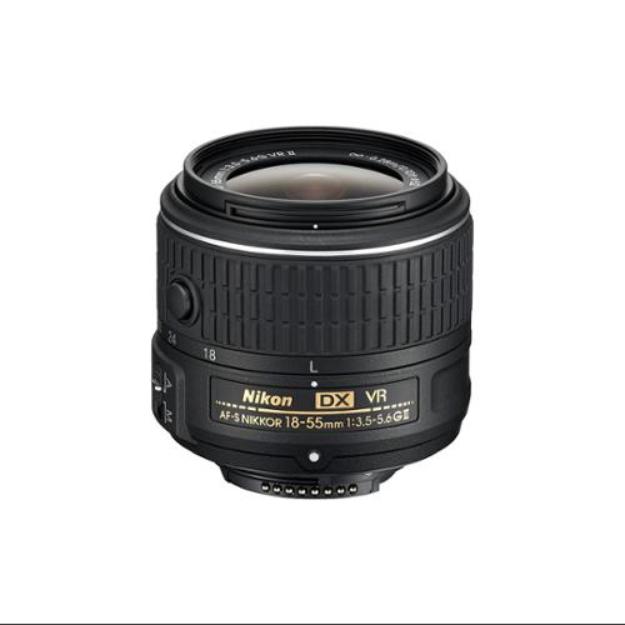 Nikon AF-S DX NIKKOR 18-55mm f/3.5-5.6G VR II Wide Angle Zoom Lens