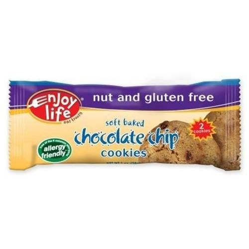 Enjoy Life Soft Baked Chocolate Chip Cookies, 1-Ounce Snack Packs (Pack of 24)