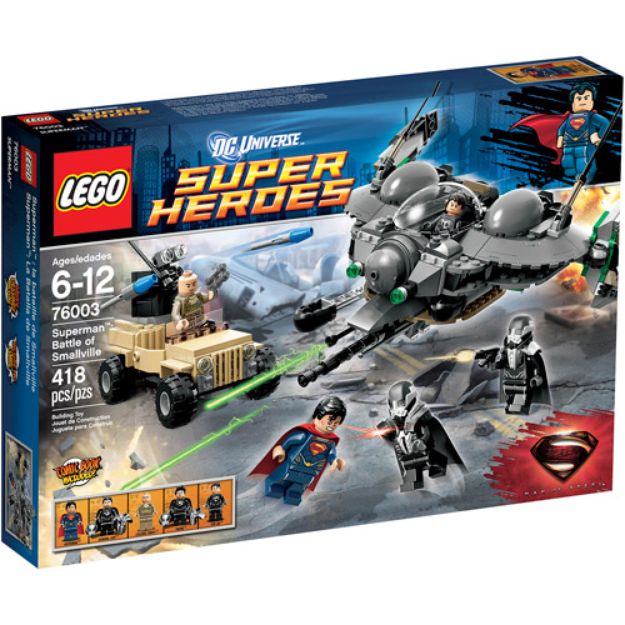 LEGO Super Heroes Superman - Battle of Smallville 76003