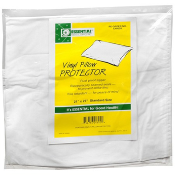 Essential Medical Standard Size Vinyl Pillow Protector