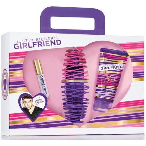 Justin Bieber's Girlfriend Gift Set, 3 pc