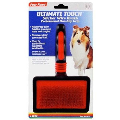 Four Paws Ultimate Touch Large Dog Grooming Gentle Slicker