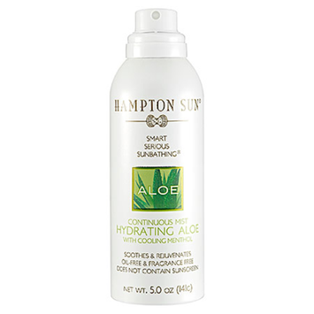 Hampton Sun Continuous Mist Hydrating Aloe  5 oz