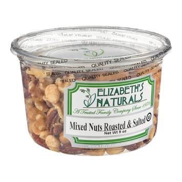 Elizabeth's Naturals Mixed Nuts Roasted & Salted