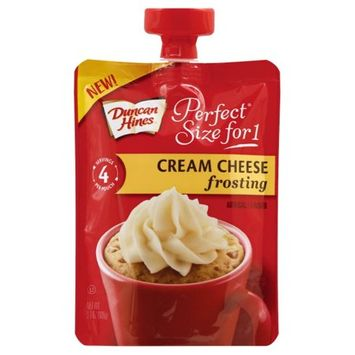 Duncan Hines  Personal for One Cream Cheese Frosting Bag - 3.7oz