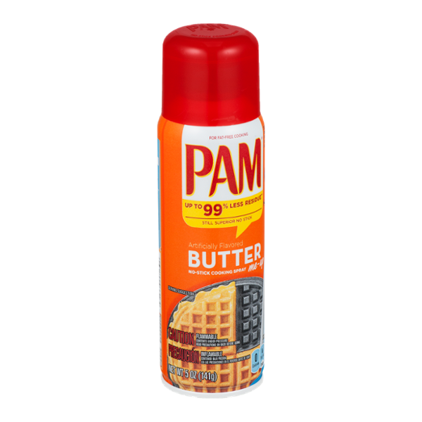Pam No-Stick Cooking Spray Butter