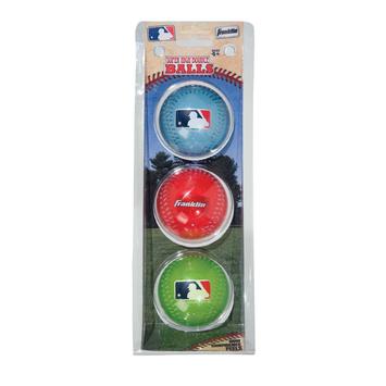 Franklin Sports MLB High Bounce Balls 3Pk
